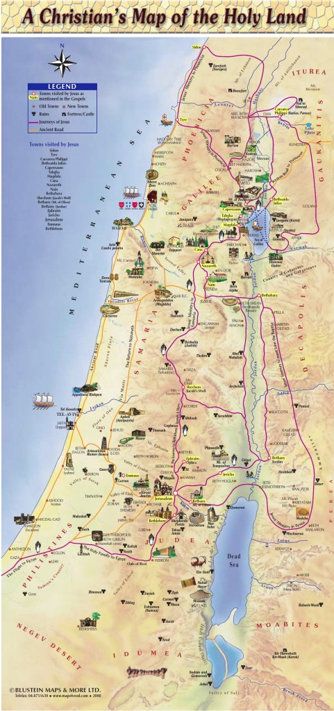 Holy Land maps